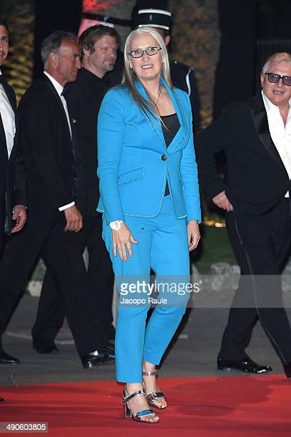 Jane Campion arrives at the after party for 'Grace of Monaco' on day 1 of the 67th Annual Cannes Film Festival on May 15 2014 in Cannes France