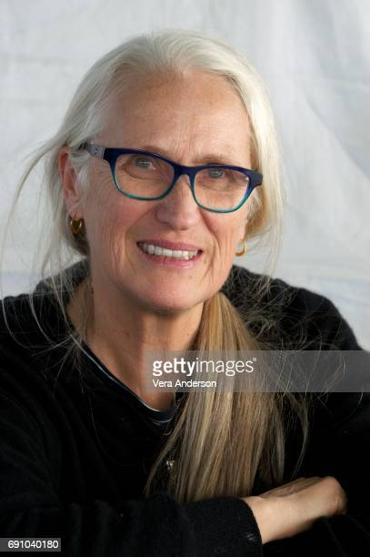 Jane Campion at the 'Top of the Lake' set visit on June 15 2016 in Sydney Australia