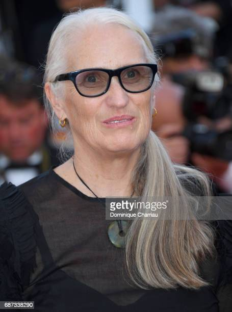 Jane Campion attends the 70th Anniversary screening during the 70th annual Cannes Film Festival at Palais des Festivals on May 23 2017 in Cannes...