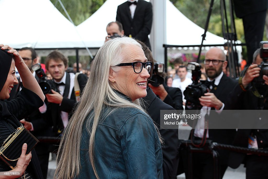 Jane Campion attends the red carpet for the Palme D'Or winners at the 67th Annual Cannes Film Festival on May 25, 2014 in Cannes, France.