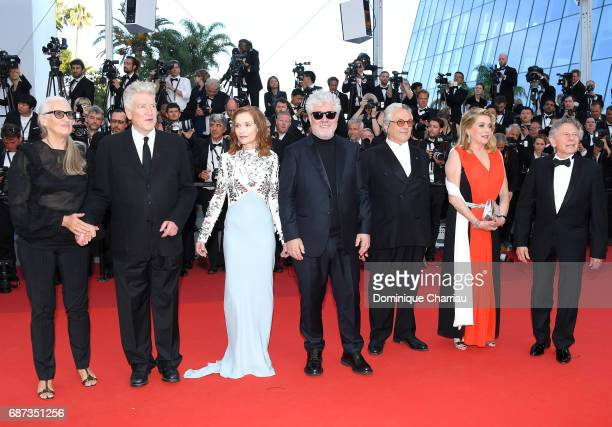 Jane Campion David Lynch Isabelle Huppert Pedro Almodovar George Miller Catherine Deneuve and Roman Polanski attend the 70th Anniversary of the 70th...