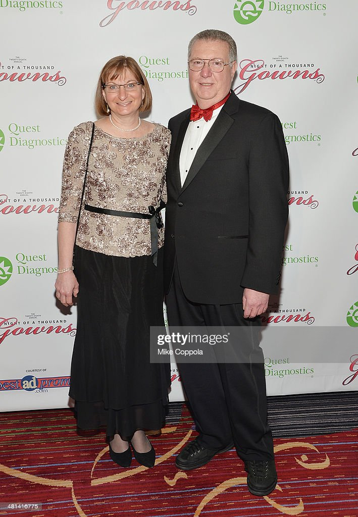 Jane Clementi (L) Joseph Clementi attend the 28th annual Night of a Thousand Gowns at the Marriott Marquis Times Square on March 29, 2014 in New York City.