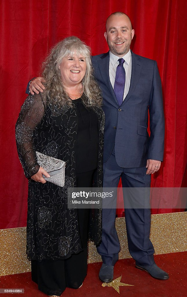 Jane Cox and Iain MacLeod attend the British Soap Awards 2016 at Hackney Empire on May 28, 2016 in London, England.