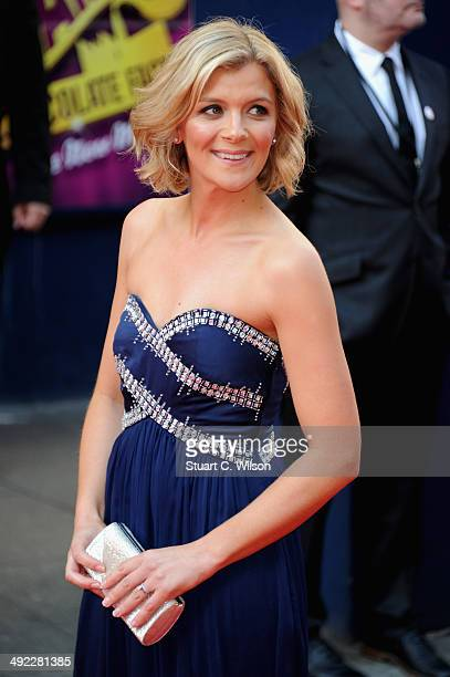 Jane Danson attends the Arqiva British Academy Television Awards at Theatre Royal on May 18 2014 in London England