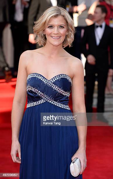 Jane Danson attends the Arqiva British Academy Television Awards held at the Theatre Royal on May 18 2014 in London England