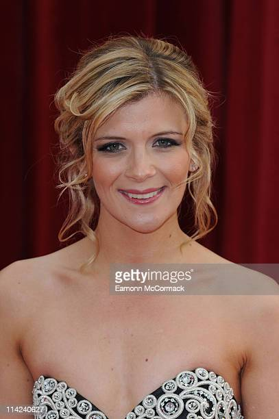 Jane Danson attends 'The British Soap Awards' at Granada Television Studios on May 14 2011 in Manchester England