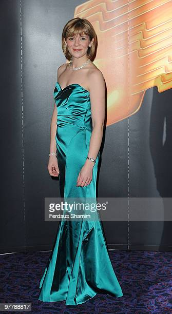 Jane Danson attends the RTS Programme Awards 2009 at The Grosvenor House Hotel on March 16 2010 in London England