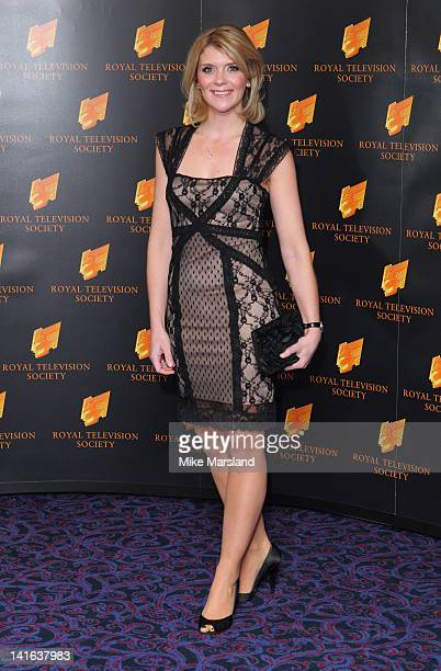Jane Danson attends the RTS Programme Awards at Grosvenor House on March 20 2012 in London England