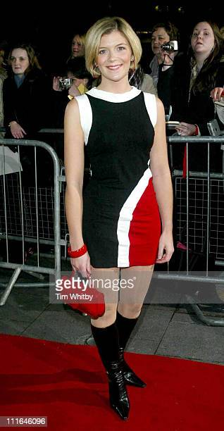 Jane Danson during 2003 National Music Awards at Hammersmith Apollo in London Great Britain