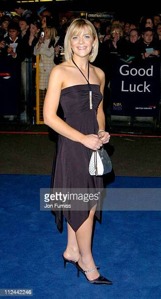 Jane Danson during 2004 National Television Awards Arrivals at Royal Albert Hall in London Great Britain