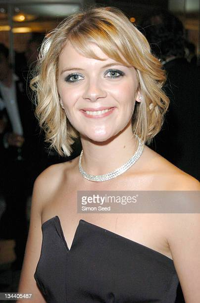 Jane Danson during 2004 TV Quick Soap Awards Press Room at Dorchester Hotel in London Great Britain