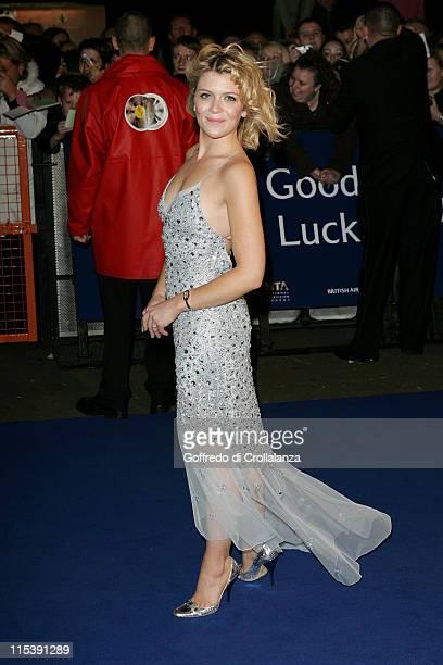Jane Danson during National Television Awards 2005 at Royal Albert Hall London in London United Kingdom