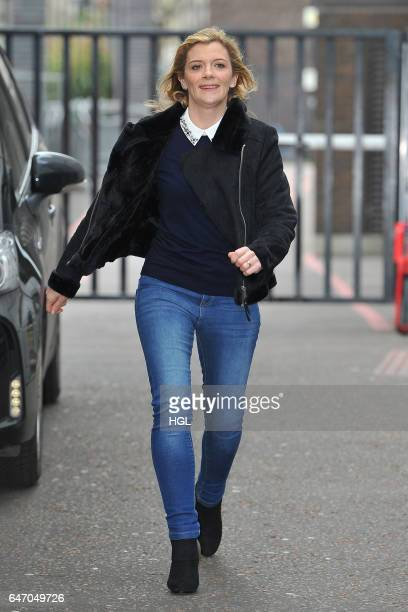 Jane Danson seen at the ITV Studios sighting on March 2 2017 in London England