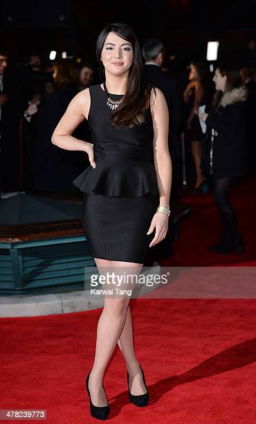 Jane Douglas attends the 2014 British Academy Games Awards at Tobacco Dock on March 12 2014 in London England