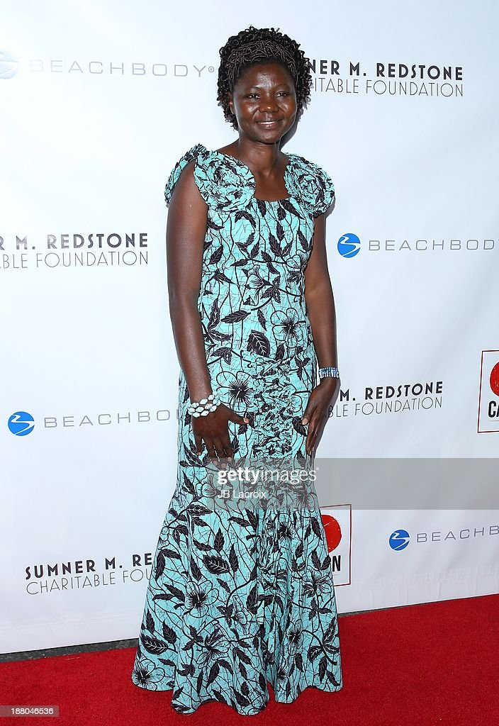 Jane Ekayu attends the 6th Annual GO GO Gala at Bel Air Bay Club on November 14, 2013 in Pacific Palisades, California.