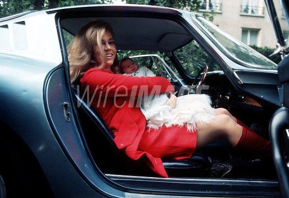 Jane Fonda and baby daughter...