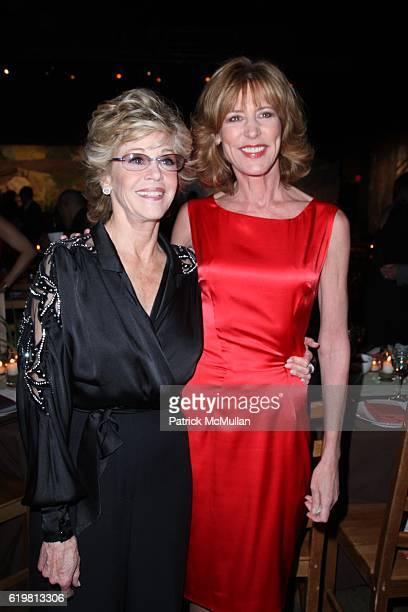Jane Fonda and Christine Lahti attend ROBERT REDFORD Hosts 2008 SUNDANCE INSTITUTE CELEBRATION FUNDRAISER at Roseland Ballroom at Roseland Ballroom...