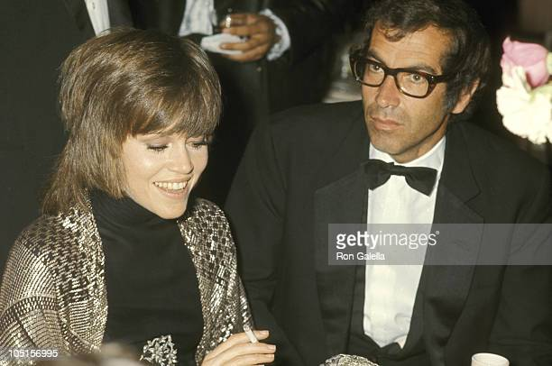 Jane Fonda and Roger Vadim during 42nd Annual Academy Awards at Dorothy Chandler Pavilion in Los Angeles California United States
