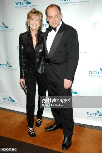 Jane Fonda and Zach Grenier attend NATIONAL CORPORATE THEATRE FUND'S 2009 CHAIRMAN'S AWARDS GALA at Cipriani's Pegasus on April 20 2009 in New York...