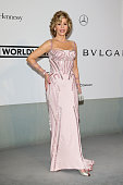 Jane Fonda attends amfAR's 21st Cinema Against AIDS Gala Presented By WORLDVIEW BOLD FILMS And BVLGARI at Hotel du CapEdenRoc on May 22 2014 in Cap...