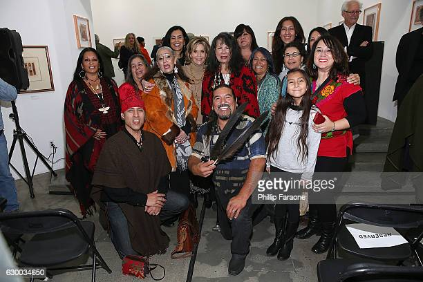 Jane Fonda attends Depart Foundation hosts Standing Rock Sioux Tribal Chairman Dave Archambault II for the first public conversation in Los Angeles...