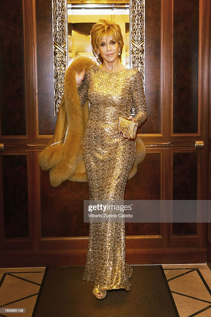 <a gi-track='captionPersonalityLinkClicked' href=/galleries/search?phrase=Jane+Fonda&family=editorial&specificpeople=202174 ng-click='$event.stopPropagation()'>Jane Fonda</a> attends L'Oreal At The 63rd Berlinale International Film Festival on February 7, 2013 in Berlin, Germany.