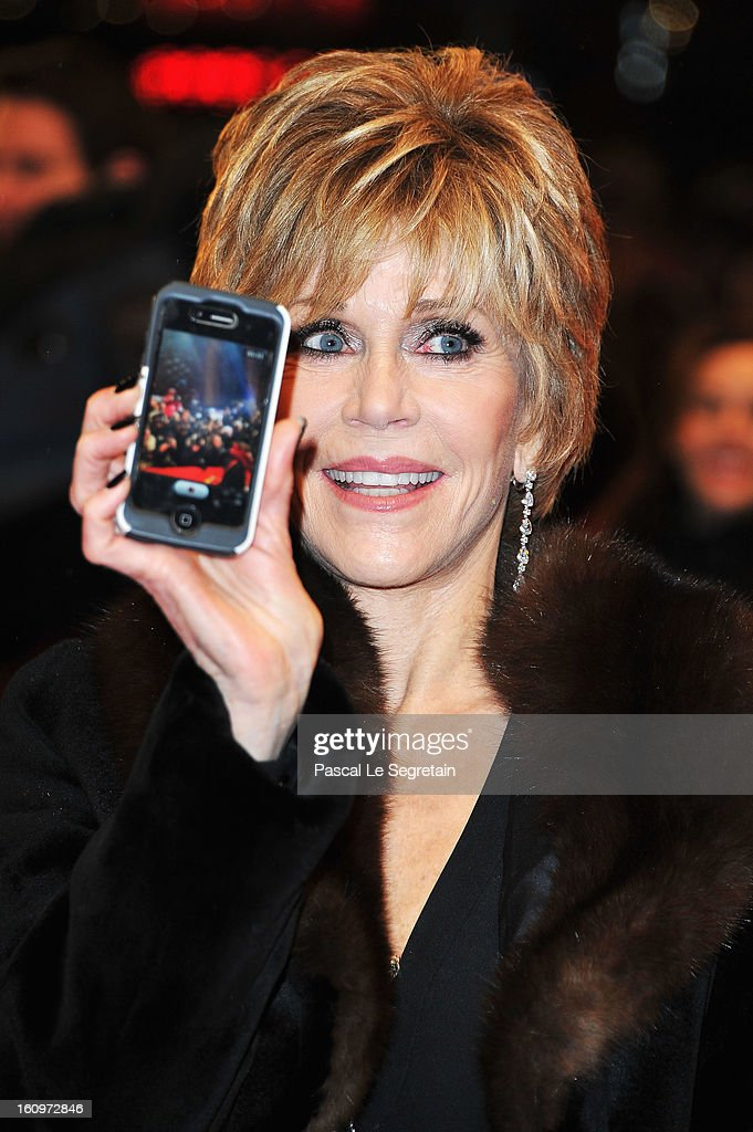 Jane Fonda attends 'Promised Land' Premiere during the 63rd Berlinale International Film Festival at Berlinale Palast on February 8, 2013 in Berlin, Germany.