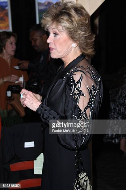 Jane Fonda attends ROBERT REDFORD Hosts 2008 SUNDANCE INSTITUTE CELEBRATION FUNDRAISER at Roseland Ballroom at Roseland Ballroom on October 27 2008...