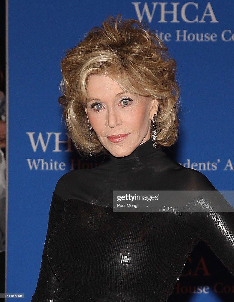 Jane Fonda attends the 101st Annual White House Correspondents' Association Dinner at the Washington Hilton on April 25, 2015 in Washington, DC.