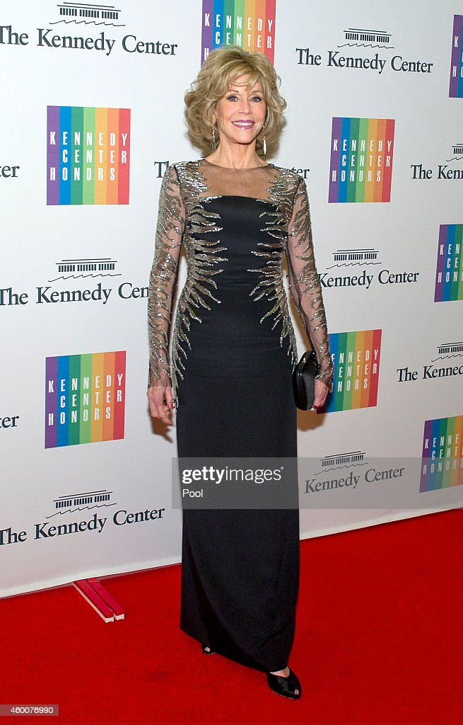 <a gi-track='captionPersonalityLinkClicked' href=/galleries/search?phrase=Jane+Fonda&family=editorial&specificpeople=202174 ng-click='$event.stopPropagation()'>Jane Fonda</a> attends the 2014 Kennedy Center Honors Gala Dinner at the U.S. Department of State on December 6, 2014 in Washington, D.C.