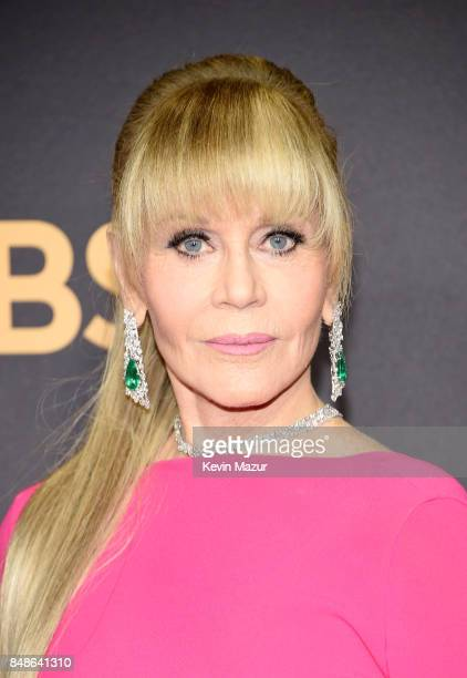 Jane Fonda attends the 69th Annual Primetime Emmy Awards at Microsoft Theater on September 17 2017 in Los Angeles California