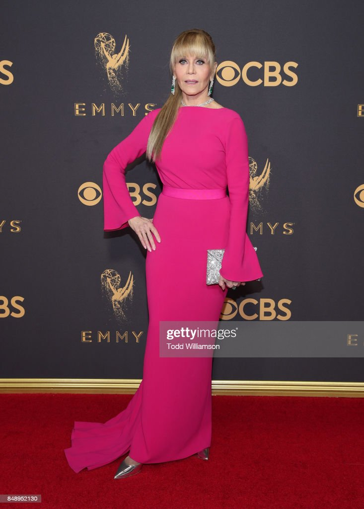 Jane Fonda attends the 69th Annual Primetime Emmy Awards at Microsoft Theater on September 17, 2017 in Los Angeles, California.