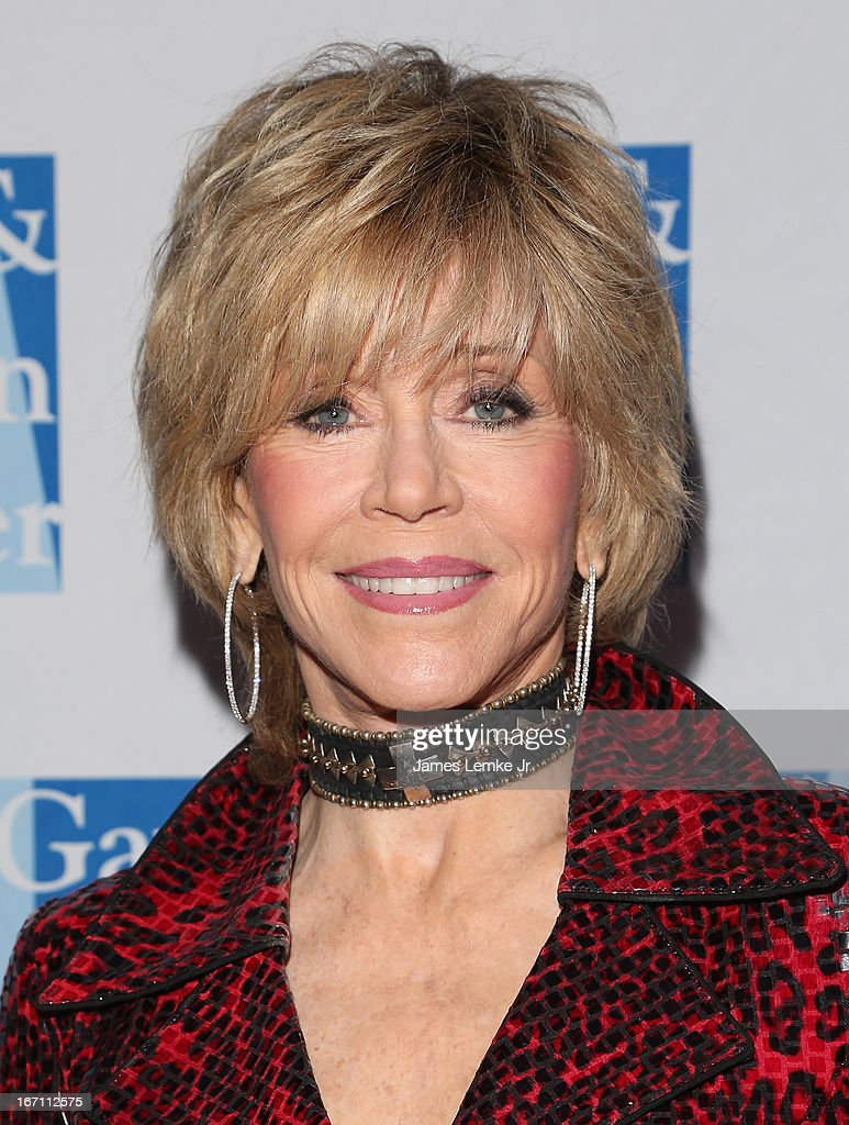 <a gi-track='captionPersonalityLinkClicked' href=/galleries/search?phrase=Jane+Fonda&family=editorial&specificpeople=202174 ng-click='$event.stopPropagation()'>Jane Fonda</a> attends The L.A. Gay & Lesbian Center's Lily Tomlin/Jane Wagner Cultural Arts Center Presents Conversations With Coco With Special Guest <a gi-track='captionPersonalityLinkClicked' href=/galleries/search?phrase=Jane+Fonda&family=editorial&specificpeople=202174 ng-click='$event.stopPropagation()'>Jane Fonda</a> held at The Renberg Theatre on April 20, 2013 in Los Angeles, California.