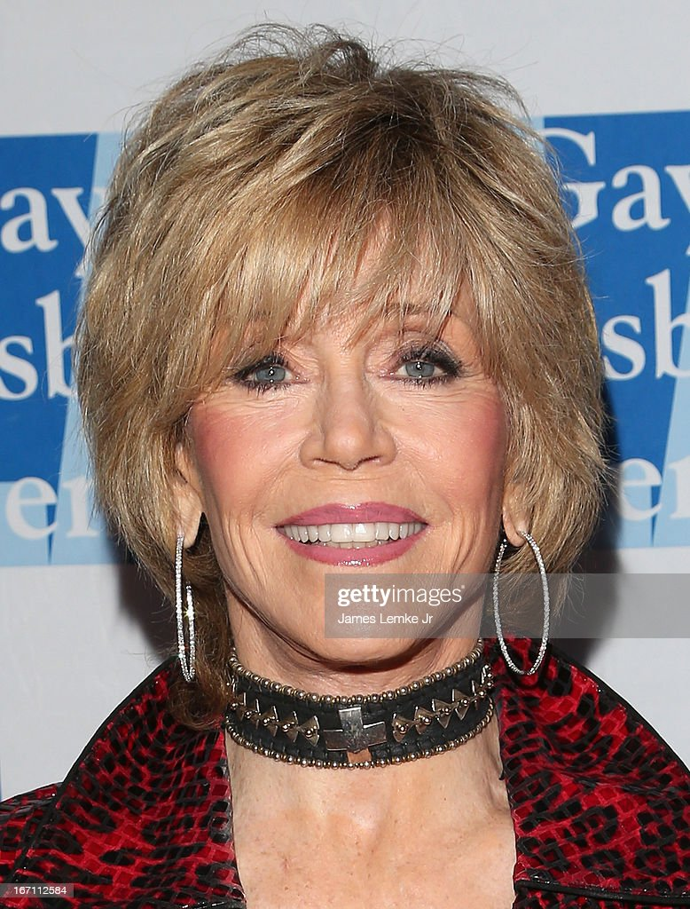 Jane Fonda attends The L.A. Gay & Lesbian Center's Lily Tomlin/Jane Wagner Cultural Arts Center Presents Conversations With Coco With Special Guest Jane Fonda held at The Renberg Theatre on April 20, 2013 in Los Angeles, California.
