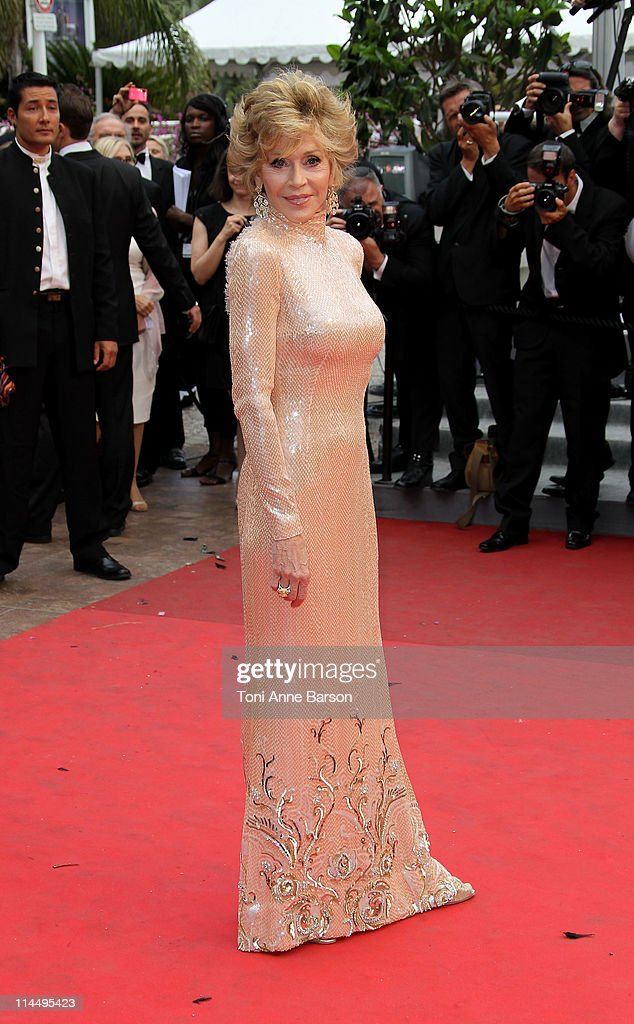Jane Fonda attends the 'Les Bien-Aimes' Premiere and Closing Ceremony during the 64th Annual Cannes Film Festival at the Palais des Festivals on May 22, 2011 in Cannes, France.