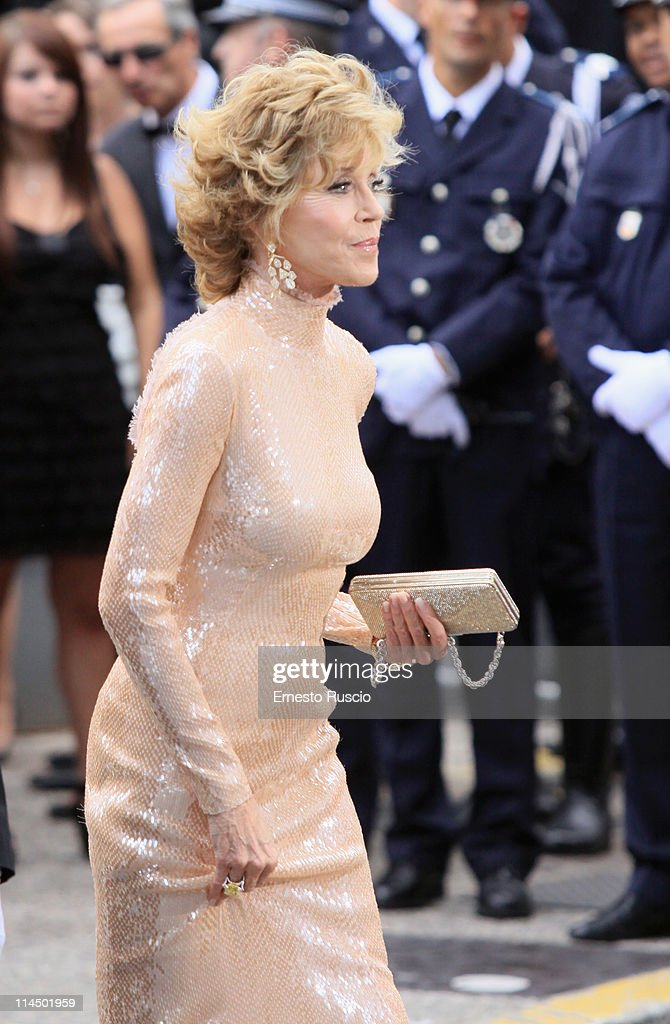 Jane Fonda attends the 'Les Bien-Aimes' premiere at the Palais des Festivals during the 64th Cannes Film Festival on May 22, 2011 in Cannes, France.