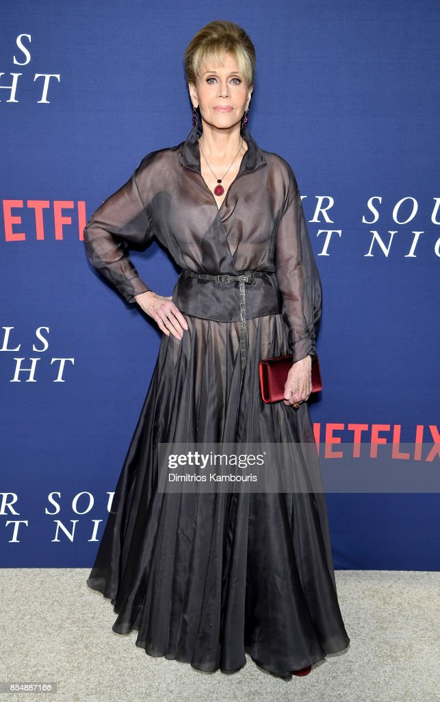Jane Fonda attends the Netflix Hosts The New York Premiere Of 'Our Souls At Night' at The Museum of Modern Art on September 27, 2017 in New York City.