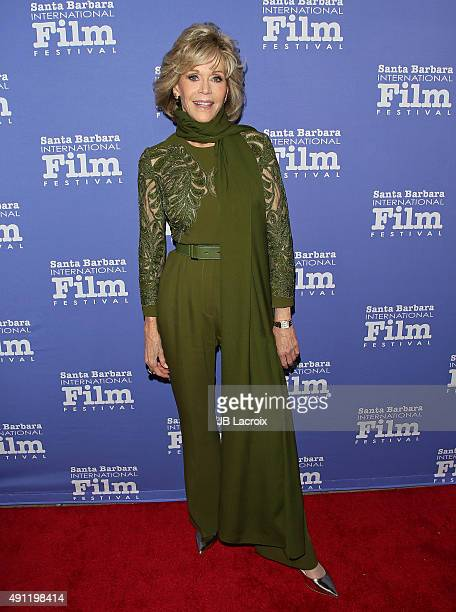 Jane Fonda attends the Santa Barbara International Film Festival Annual Kirk Douglas Award for Excellence in Film honoring Jane Fonda at the Bacara...
