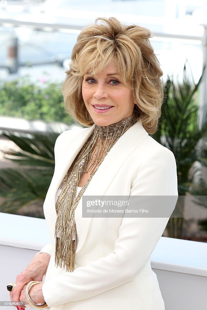 <a gi-track='captionPersonalityLinkClicked' href=/galleries/search?phrase=Jane+Fonda&family=editorial&specificpeople=202174 ng-click='$event.stopPropagation()'>Jane Fonda</a> attends the 'Youth' photocall during the 68th annual Cannes Film Festival on May 20, 2015 in Cannes, France.