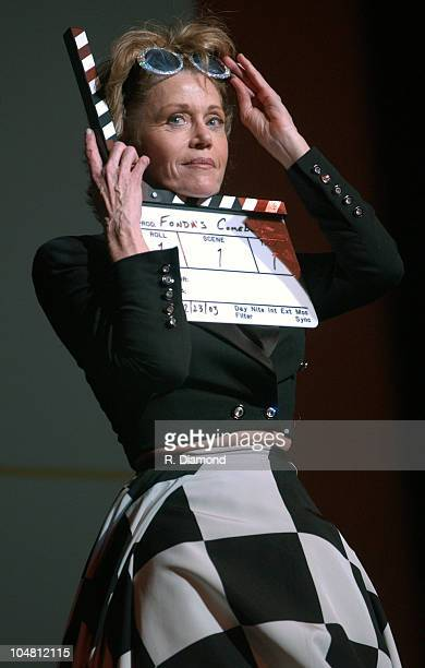 Jane Fonda during GCAPP'S 'The Retro Premier' of 9 to 5 Live Auction at Woodruff Arts Center in Atlanta Georgia United States