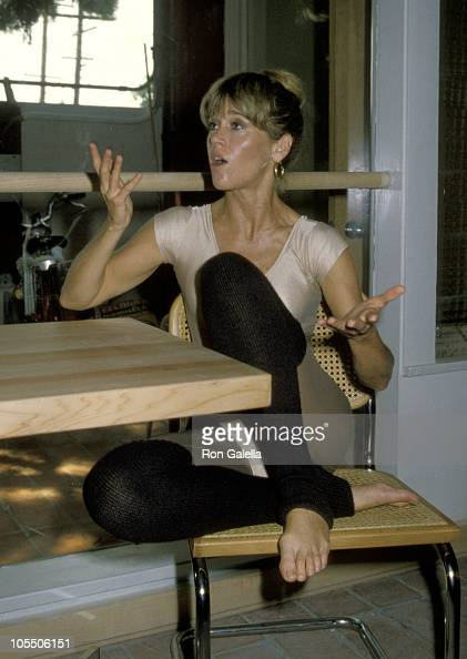 jane fonda workout stock photos and pictures getty images. Black Bedroom Furniture Sets. Home Design Ideas