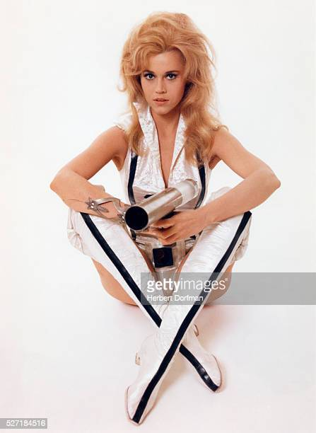 Jane Fonda in Barbarella Costume