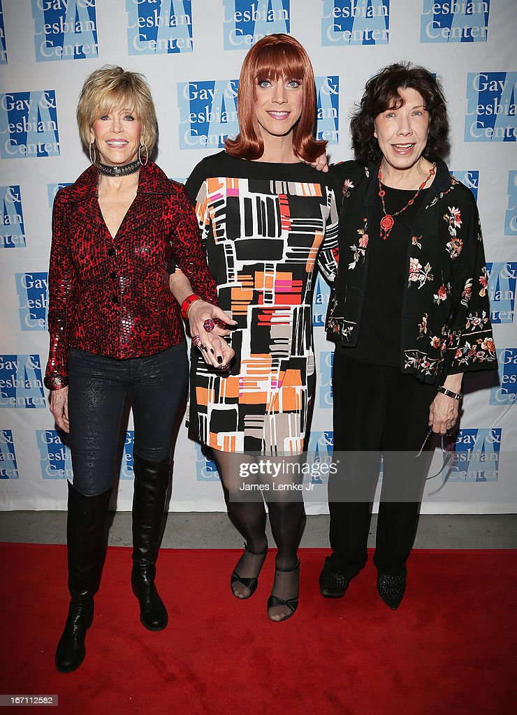 <a gi-track='captionPersonalityLinkClicked' href=/galleries/search?phrase=Jane+Fonda&family=editorial&specificpeople=202174 ng-click='$event.stopPropagation()'>Jane Fonda</a>, Miss <a gi-track='captionPersonalityLinkClicked' href=/galleries/search?phrase=Coco+Peru&family=editorial&specificpeople=2219296 ng-click='$event.stopPropagation()'>Coco Peru</a> and <a gi-track='captionPersonalityLinkClicked' href=/galleries/search?phrase=Lily+Tomlin&family=editorial&specificpeople=208236 ng-click='$event.stopPropagation()'>Lily Tomlin</a> attend The L.A. Gay & Lesbian Center's <a gi-track='captionPersonalityLinkClicked' href=/galleries/search?phrase=Lily+Tomlin&family=editorial&specificpeople=208236 ng-click='$event.stopPropagation()'>Lily Tomlin</a>/Jane Wagner Cultural Arts Center Presents Conversations With Coco With Special Guest <a gi-track='captionPersonalityLinkClicked' href=/galleries/search?phrase=Jane+Fonda&family=editorial&specificpeople=202174 ng-click='$event.stopPropagation()'>Jane Fonda</a> held at The Renberg Theatre on April 20, 2013 in Los Angeles, California.
