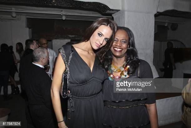 Jane Foret and Judy Dorego attend ONE MANAGEMENT COMPANY Holiday Party at La Esquina on December 15 2010 in New York City