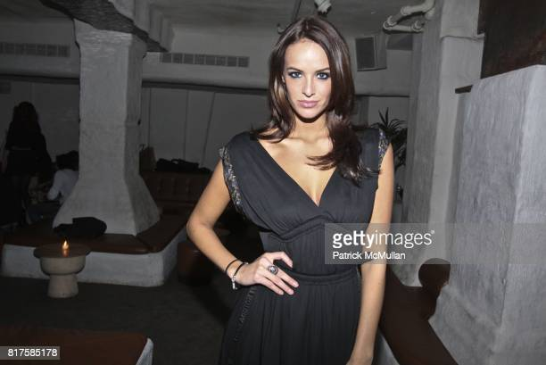Jane Foret attends ONE MANAGEMENT COMPANY Holiday Party at La Esquina on December 15 2010 in New York City