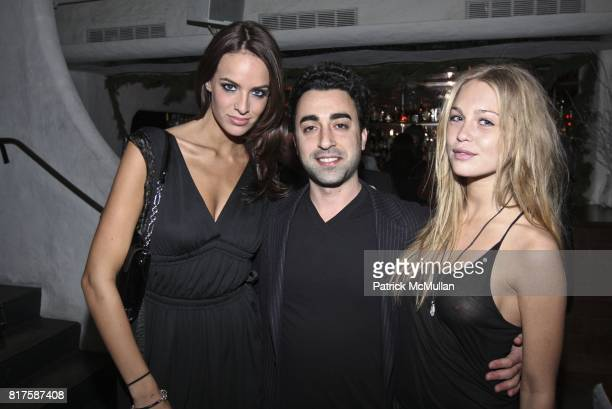 Jane Foret Eytan Rockaway and Katarina Damm attend ONE MANAGEMENT COMPANY Holiday Party at La Esquina on December 15 2010 in New York City