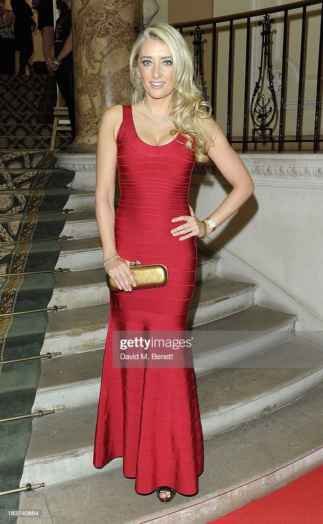 Jane Given arrives at the Scottish Fashion Invasion of London at the 8th Annual Scottish Fashion Awards 2013 at Dover House on October 9, 2013 in London, England.