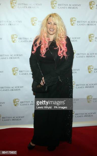 Jane Goldman attending the British Academy Video Games Awards at the London Hilton Park Lane London PRESS ASSOCIATION Photo Picture date Tuesday...