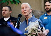 The Los Angeles Zoo Hosts Jane Goodall Institute's...