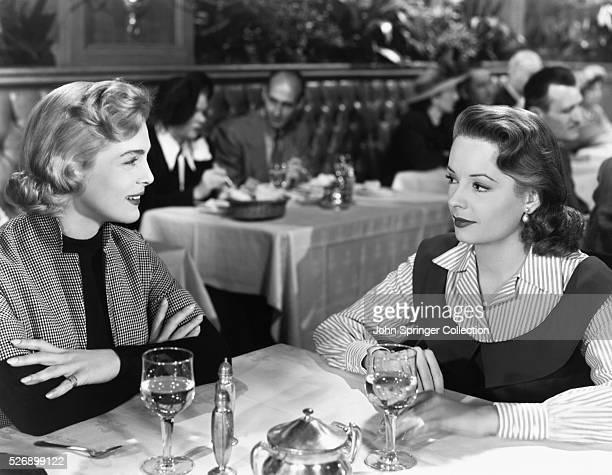 Jane Greer and Lizabeth Scott in The Company She Keeps